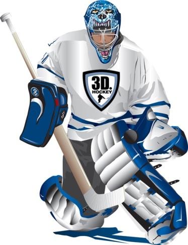 Goalies 3d Hockey