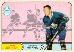 Larry Mickey Toronto Maple Leafs