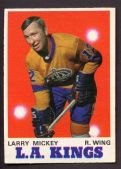 Larry Mickey Los Angeles Kings