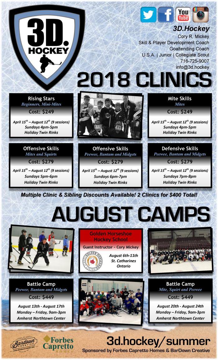 2018 Cory Mickey Summer Clinics FINAL
