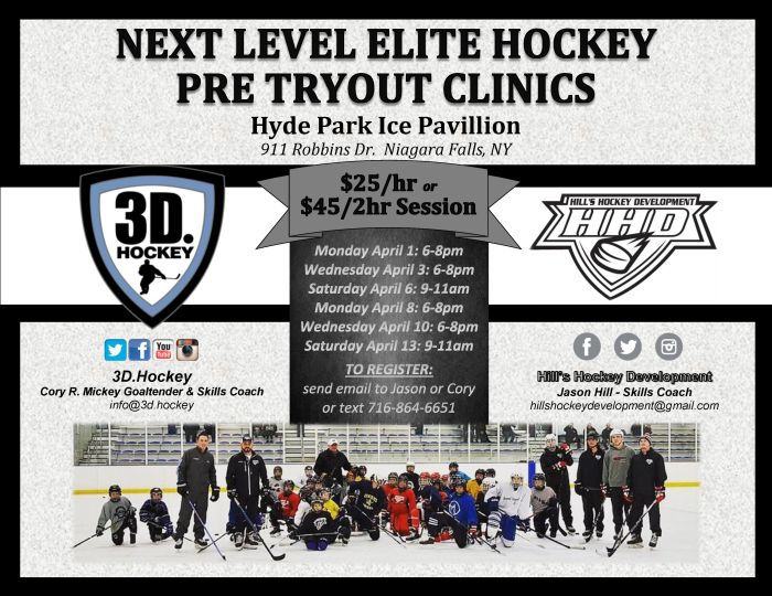 3D and HHD Clinics Spring 2019